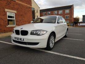 Bmw 1 series 116i petrol 5 door white