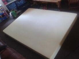 double foam mattress in good condition with washable cover, could deliver for £10