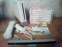 Nintendo Wii Sports Resort Bundle: Console, Motion Plus Controller, Nunchuck, 10 Games