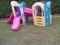 Little Tikes 8 in 1 Adjustable Playground/Slides - Roundhay Park LEEDS 8 - Can Deliver