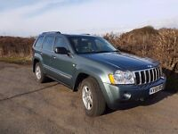 2008 58 Jeep Grand Cherokee CRD Limited 3.0 V6 Auto