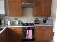 Kitchen cabinets, worktop and appliances