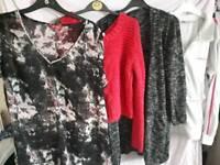 Ladies bundle size 16 jumper jacket summer top cardigans £5