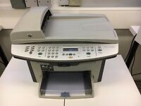 Printer - HP Laserjet 3055 with barely used Black and White Inkjet Cartridge installed
