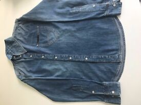 vivienne westwood anglomania Men's Denim Shirt size Small
