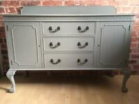 Unique Vintage Shabby Chic Sideboard Cabinet Display