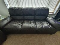 Leather Sofa Suite for Sale