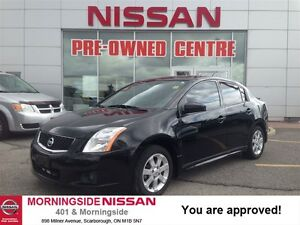 2012 Nissan Sentra 2.0 SR (CVT) Power options Low KM Blue Tooth,