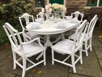 Dining Table & 6 Chairs ~ Extends