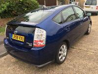2008 TOYOTA PRIUS T3 VVT-I AUTO BLUE HYBRID ELECTRIC/£10 YESR TAX. /honda civic