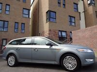 12 MONTH WARRANTY! FORD MONDEO GHIA TDCi 140 BHP Estate- One Owner- Genuine 85k Miles- FSH- Top Spec