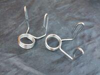 Olympic bar spring lock collars