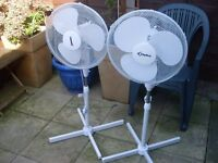 TWO LARGE FANS