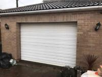 REMOTE CONTROLLED Used roller shutter garage door