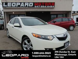 2010 Acura TSX Premium,Leather,Sunroof,Memory*No Accident*
