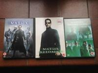 Matrix Trilogy on DVD