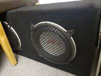 "Twin 10"" Alpine Type R Sub Woofer Box"