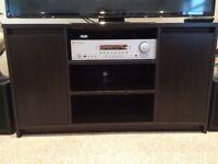TV stand with cupboard doors