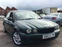 Jaguar X-Type 2.1 V6 SPORT + SERVICE HISTORY + MOT TILL AUGUST 2017 + DRIVES SUPERB