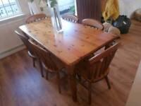Dining table/ Welsh dresser ect