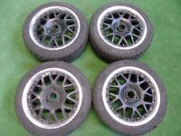 """15"""" inch ALLOY WHEELS TO FIT SMART FORTWO WITH 195/45R15 TYRES"""