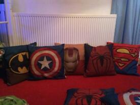 Marvel heroes cushions