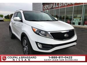 2014 Kia Sportage EX LUXURY,TOIT OUVRANT,CUIR,MAGS,BLUETOOTH