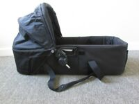 Carrycot Baby Jogger Compact in Black pram top