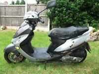 Needs attention ..peugeot 50cc scooter 2011