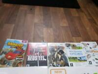 Nintendo Wii and wii fit plus and games