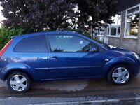 Ford Fiesta Zetec 1.4L limited edition 3 doors Blue