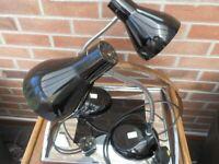 Herbert Terry Gooseneck Desk Lamps 70's Mid Century Rarer Than Anglepoise NG9