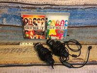 Playstation 3 Ps3 Karaoke Disney bundle 2x microphone 2x games Tested