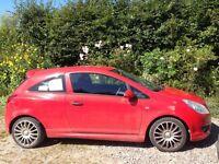 Vauxhall Corsa Hatchback petrol, 998 cc, millage 100,400. Reg 58