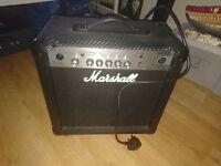 Marshall 15 watt amp.