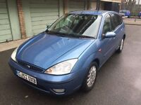 FORD FOCUS 1.6 GHIA, MOT, 2 OWNERS, SERVICE, 2003, MANUAL