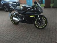 Yamaha YZF R125 5297 Miles 2014 Plate Learner Legal