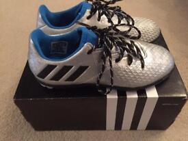 Adidas Messi Kids Turf Football boots 12K uk