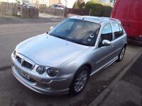 MG ZR, 2lt Diesel, Manual, 53 plate, Silver, MOT- Dec 2018