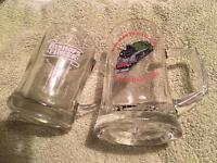 3 x beer glasses