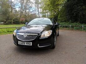 Vauxhall Insignia Saloon Car - Black - Low Milage