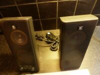 Stereo speakers ,hardly used