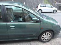 green renault megane scenic 1600 petrol