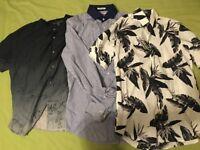 3 Button Shirts - John Varvatos & Express