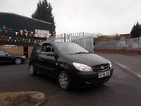 Hyundai Getz 1.4 GSi 1 OWNER 6 MONTHS WARRANTY & AA ROADSIDE RECOVERY 2006