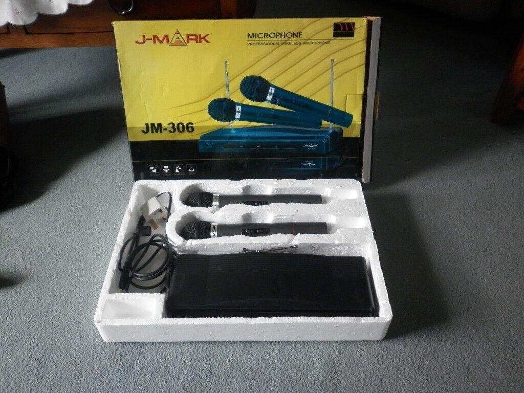 J-MARK Professional Wireless Microphone
