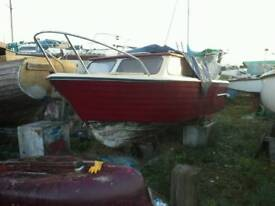 Project boat Teal 22 ft