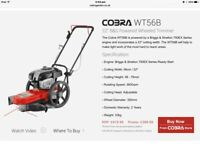 Cobra Wheeled Strimmer