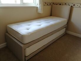 John Lewis Savoy Guest Bed & Headboard-small single/king sized/two twin beds (practically brand new)