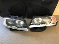 BMW E46 M3 PROJECTOR HEADLIGHTS TITAN SILVER